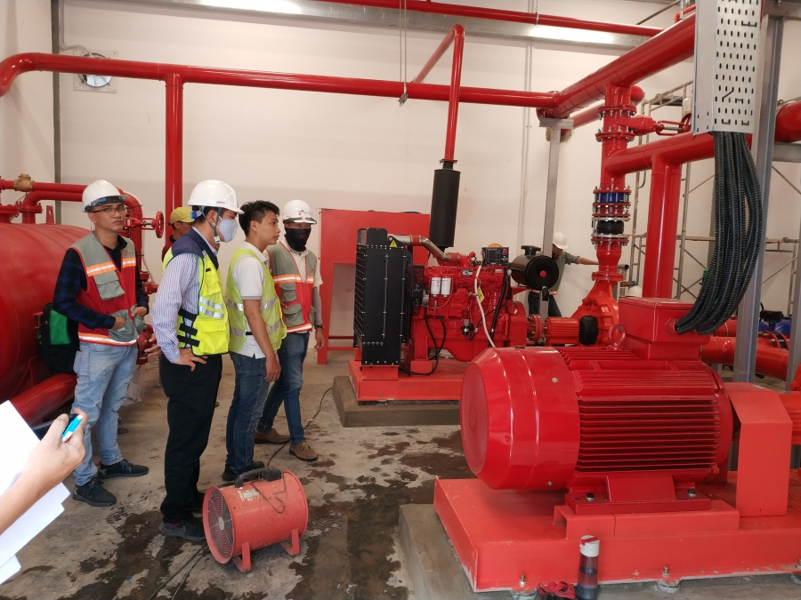 Máy bơm chữa cháy LD Wilo và Elektrim Wilo cho Dự Án Siegwerk: Đường 32, VSIP II – mở rộng, Tân Uyên, tỉnh Bình Dương.